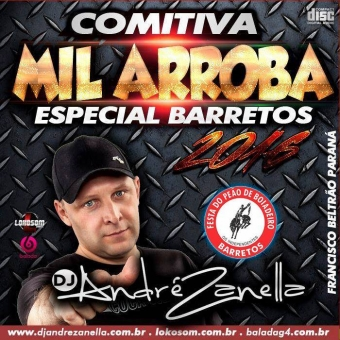 Barretos 2016 Comitiva MIl Arroba