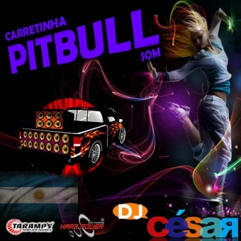 Carretinha PitBull Som