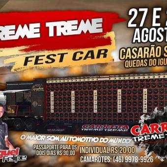 Treme Treme Fest Car -- Quedas do Iguaçu PR