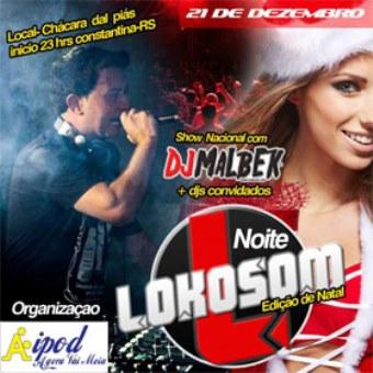 Noite Lokosom Edição De Natal - Constantina