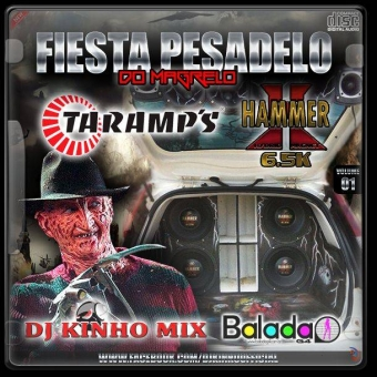 CD Fiesta Pesadelo do Magrelo -Dj Kinho Mix
