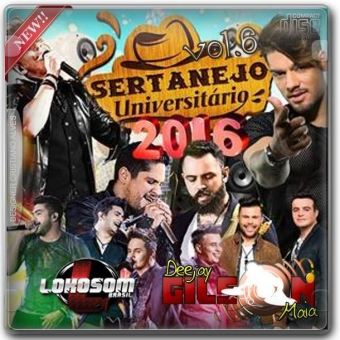 CD-ESP-SERTANEJO UNIVERSITARIO-VOL6-LANCAMENTOS