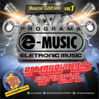 CD Programa e-music House Edition 2015.