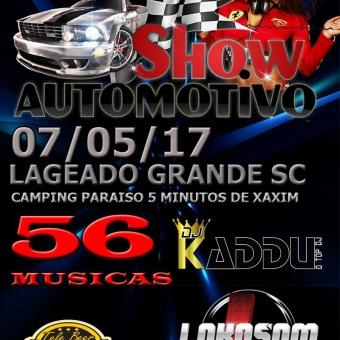 VOL2 SHOW AUTOMOTIVO LAGEADO GRANDE SC 07-05-17