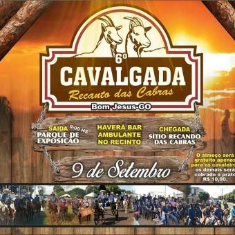 CAVALGADA RECANTO DAS CABRAS 2017