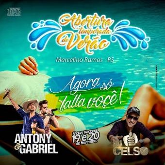Na Balada DJ Celso e Antony e Gabriel