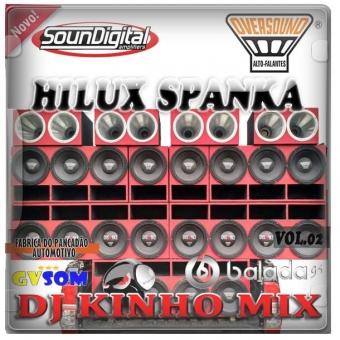 CD Hilux Spanka Vol.2 2015 Dj Kinho Mix