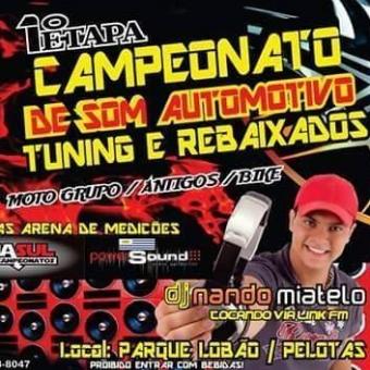 Campeonato de som em Pelotas-RS