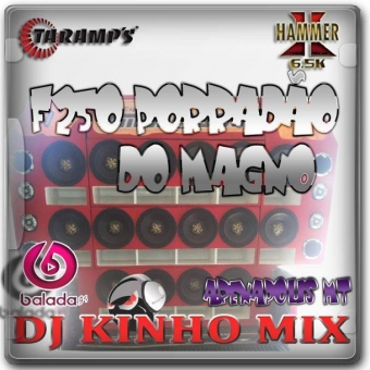 CD F250 Porradão Do Magno Esp Dance Vo.1Dj Kinho Mix