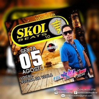 CD SKOL BEATS 2016 -TUCURUI-PA DJ Castilho