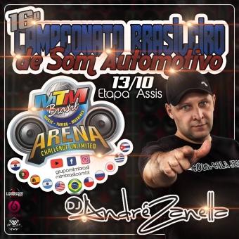 16º Campeonato Brasileiro de Som Automotivo MTM World Etapa Assis-SP