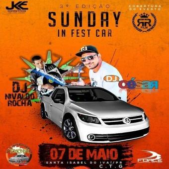 Sunday in Fest Car DJ César
