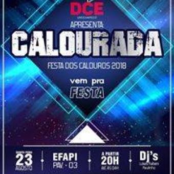 Calourada Universitaria 2018