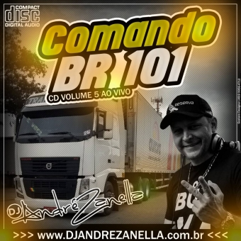 Comando Br 101 Volume 5 (CD ao vivo com fala)
