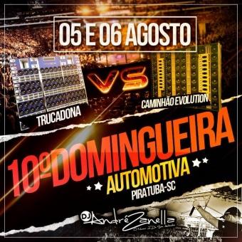 10º Domingueira Automotiva Piratuba 2017