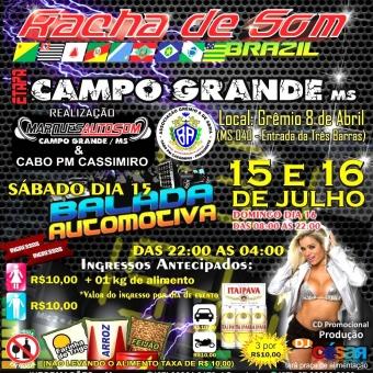 Racha de Som Brazil - Etapa Campo Grande MS