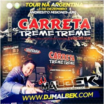 CARRETA TREME TREME TOUR ARGENTINA