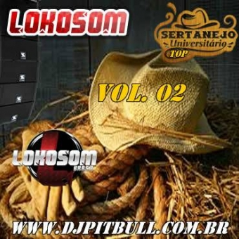 TOP SERTANEJO UNIVERSITÁRIO VOL.02 (ESPECIAL LOKOSOM)