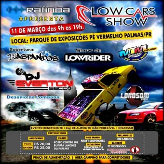 Low Cars Show - DJ Everton Secco