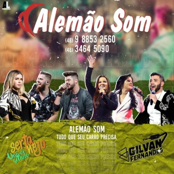 Alemao Som Maio 2020 - DJGilvanFernandes