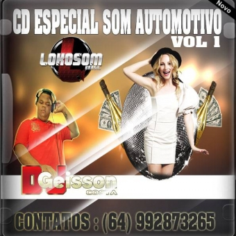 CD ESPECIAL SOM AUTOMOTIVO VOL 1 e Meio