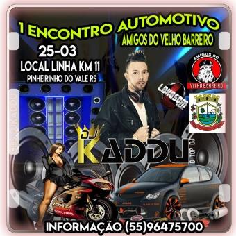 1 ENCONTRO AUTOMOTIVO LINHA KM11 PINHEIRINHO DO VALE RS 25-03