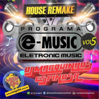 CD Programa e-music House Remake 2016.