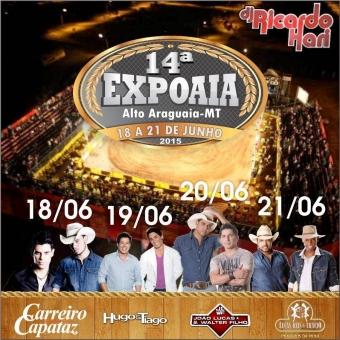 14°Expoaia-Alto Araguaia (18/06 a 21/06)