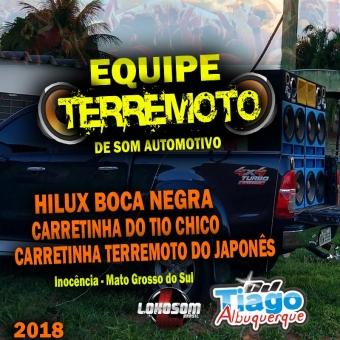 EQUIPE TERREMOTO 2018 - DJ TIAGO ALBUQUERQUE