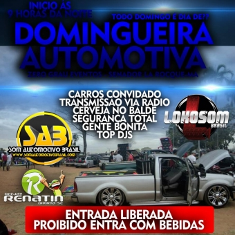 DOMINGUEIRA AUTOMOTIVA DA ZERO GRAU EVENTOS