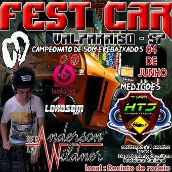 Fest Car Valparaiso SP. - Dj AndersonWildner