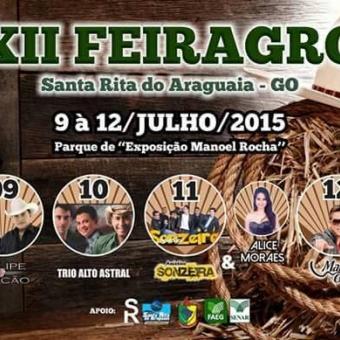 12° Feiragro- Santa Rita Do Araguaia(09/06 a 12/06)