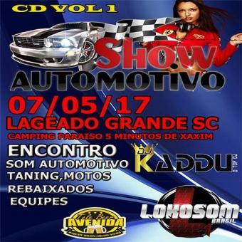 SHOW AUTOMOTIVO LAGEADO GRANDE SC 07/05/17