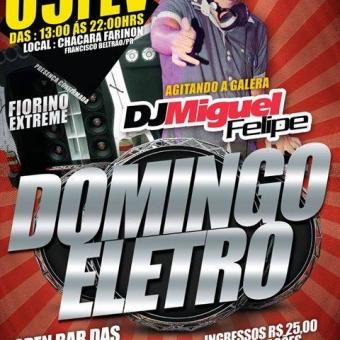 Evento -- Domingo Eletro @ Francisco Beltrão PR