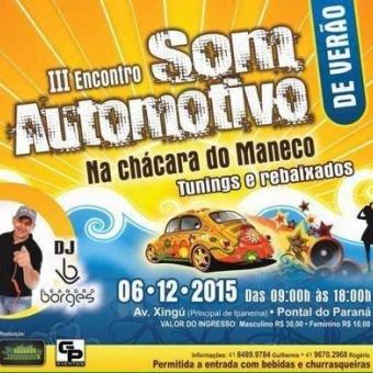 3º ENCONTRO DE SOM AUTOMOTIVO DE VERÃO