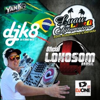 dj k8 - loko som brasil funk bass luau de luxo