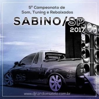 5º Campeonado de som de Sabino-SP