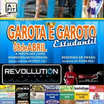 GAROTA E GAROTO ESTUDANTIL BURITI ALEGRE-GO 2017