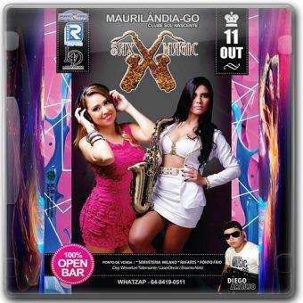 Sax Magic 2014 Maurilãndia - Go
