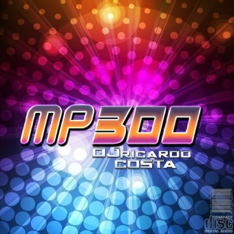 MP300, CD MP3 Com 300 Musicas, Todos Os Ritmos