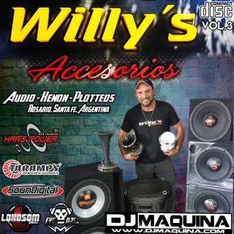 willys accesorios soundcar vol.3