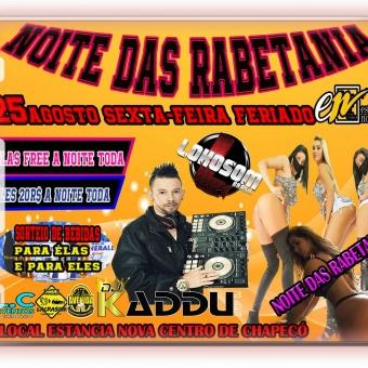 NOITE DAS RABETANIA COM DJ KADDU