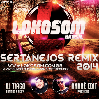 Cd Lokosom Sertanejos Remix 2014