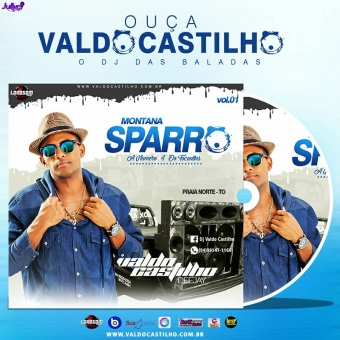 CD Montana Sparro Vol-01 Praia Norte-Tocantins By Valdo Castilho