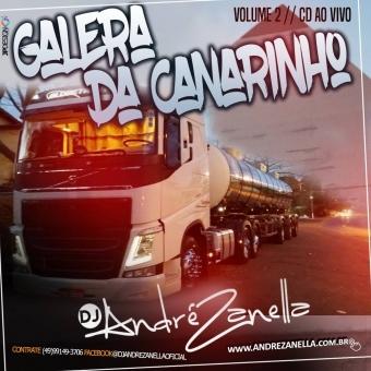 Galera da Canarinho Volume 2 ((Cd ao vivo com fala))