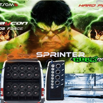 CD - 2019 HULK POWER DISTRIBUIDORA- - SPRINTER HULK POWER