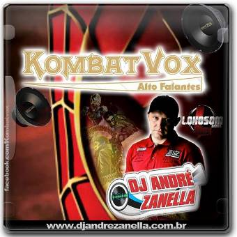 Kombat Vox Altofalantes (frequência, Funk Bass)