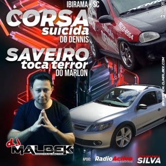 SAVEIRO TOCA TERROR E CORSA SUICIDA