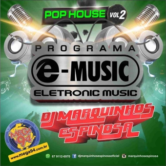 CD Programa e-music 2015 Vol 2 Pop House.