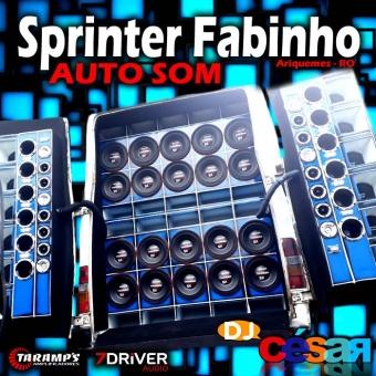 Sprinter Fabinho Auto Som